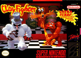 Clayfighter SNES Great Condition Fast Shipping - $11.64