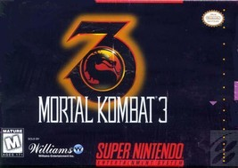 Mortal Kombat 3 SNES Great Condition Fast Shipping - $17.94