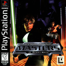 Star Wars Masters Of Teras Kasi PS1 Great Condition Fast Shipping - $13.44