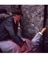 1970's Original amateur 35mm slide Man lifting helping fallen Man - $5.89
