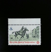1972 8c Postrider, Spirit of Independence Scott 1478 Mint F/VF NH - $0.99