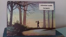 Adventure awaits handmade card - $5.00