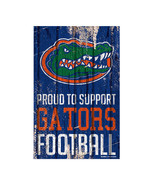 Florida Gators Sign 11x17 Wood Proud to Support Design**Free Shipping** - $24.70