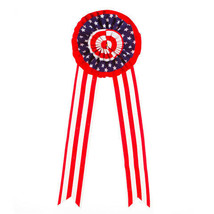 Darice Patriotic Ribbon Decor: Red/White/Blue - 26.5 x 10.5 inches - 1 p... - $7.99