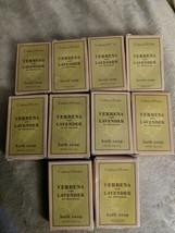 Crabtree & Evelyn VERBENA & LAVENDER Body & Facial Soap Lot of 10 Bars - $18.95