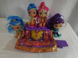 Shimmer and Shine Flying Magic Carpet Talking Moves works Plus 2 additio... - $17.84