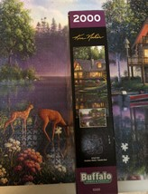 Buffalo Games Jigsaw Puzzle 2000 Pieces CABIN FEVER 38.5 x 26.5 In with Poster image 5