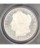 1884 CC MS 65 DMPL PCGS Gem Deep Mirror Proof Like Morgan Silver Dollar - $1,183.05