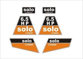 SOLO 6.5 HP - Grasscut decal set , reproduction - $36.00