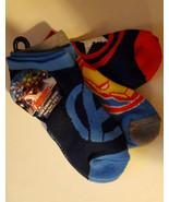 Marvel Character Toddler Boys Socks 3pk Avengers  Size 3-8.5 NWT - $6.10