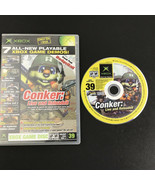 Xbox Game Disc Holiday 2004 Conker Live and Reloaded demo disc 7 Games - $9.98