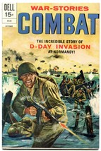 Combat #37 1972- Dell Comics- D-Day invasion Normandy FM+ - $56.75