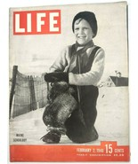 LIFE Magazine VTG Feb 2 1948 Maine Boy Long Island Transit Germany CA Go... - $26.61