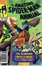 Amazing Spiderman Annual #18 ORIGINAL Vintage 1984 Marvel Comics - $12.86