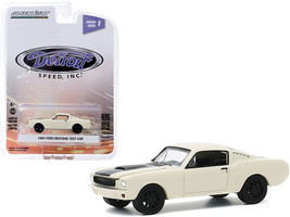 1966 Ford Mustang Fastback Test Car Cream with Black Stripe Detroit Speed Inc. S - $14.69