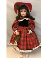 Winter Wonderland Porcelain Doll Special Collector's Edition, 17 in Tall - $11.88