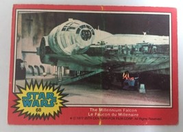 Star Wars 1977 Topps Series 2 Red Card #68 / Millennium Falcon CANADA / ... - $0.97