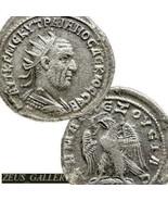 Trajan Dèce X Rare! Tetradrachm Seulement 2 IN Prieur 567 Ancien Romain ... - $341.08