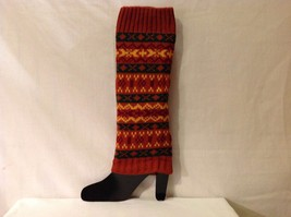 Nordic Pattern warm fashion leg warmers in choice of color