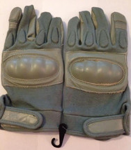 Airsoft Swat Tactical Hard Knuckle Gloves Leath... - $15.50