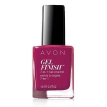 "Avon Gel Finish 7-in-1 Nail Enamel ""Very Berry"" - $6.25"