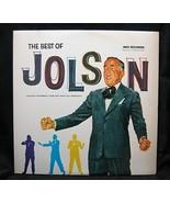Al Jolson The Best of Jolson 1973 MCA Records 10002 - $3.99