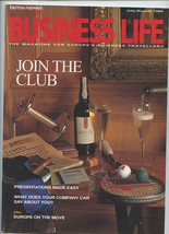 British Airways Business Life Magazine July August 1994 Join the Club - $17.82