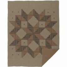 VHC Brands Classic Country Rustic & Lodge Bedding - Novak Tan Quilt, Twi... - $221.56