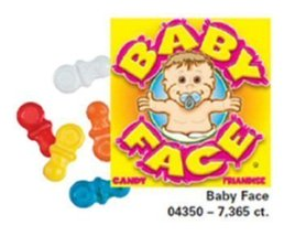Candy By The Pound - 5 Pound Bag of Baby Face Pacifier Candy - $19.46