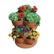 30-Quart Stacking Pot Planter in U.V. Protected Plastic - $130.49 CAD