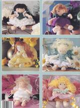 RARE~Birthday Fairies Crochet Pattern~12 Little Flower Fairies - $19.99