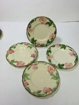 "4 Franciscan Desert Rose Bread Side Plates Dif. Vtg Marks USA  6.25"" - $12.99"