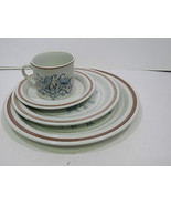 4 Pc Place Setting Royal Doulton Lambeth Stoneware Inspiration Pattern - $23.53