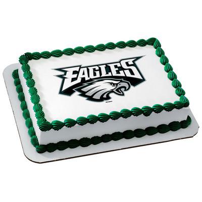 PHILADELPHIA EAGLES NFL Edible Cake Topper licensed by ...