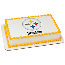 PITTSBURGH STEELERS NFL Edible Cake Topper lice... - $8.25