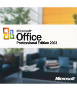 Microsoft Office Professional 2003  -  NEW  -  genuine retail - $9.56