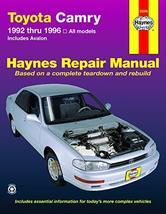 Toyota Camry (92-96) & Avalon (95-96) Haynes Repair Manual [Paperback] H... - $11.62