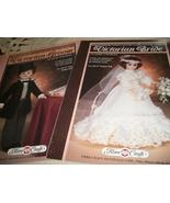 Victorian Groom & Victorian Bride Crochet Clothing Patterns - $6.00