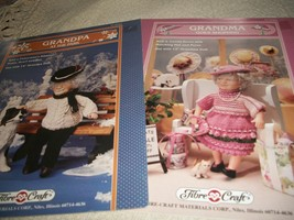 Grandpa & Grandma Doll Knit Clothing Patterns - $6.00