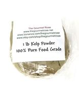 1 lb KELP POWDER SEAWEED Mud Body Mask Detox FOOD GRADE - $10.95