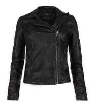 All Saints Marsden Leather Jacket (Size: UK10/US6) EUC - $365.00