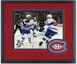 David Desharnais & Dale Weise 2016 NHL Winter Classic -11x14 Matted/Framed Photo - $43.55