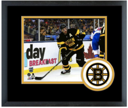 Patrice Bergeron 2016 NHL Winter Classic - 11 x 14 Team Logo Matted/Framed Photo - $42.95