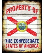 Florida Property of the  Confederate States of ... - $21.99