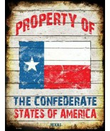 Texas Property of the Confederate States of Ame... - $21.99