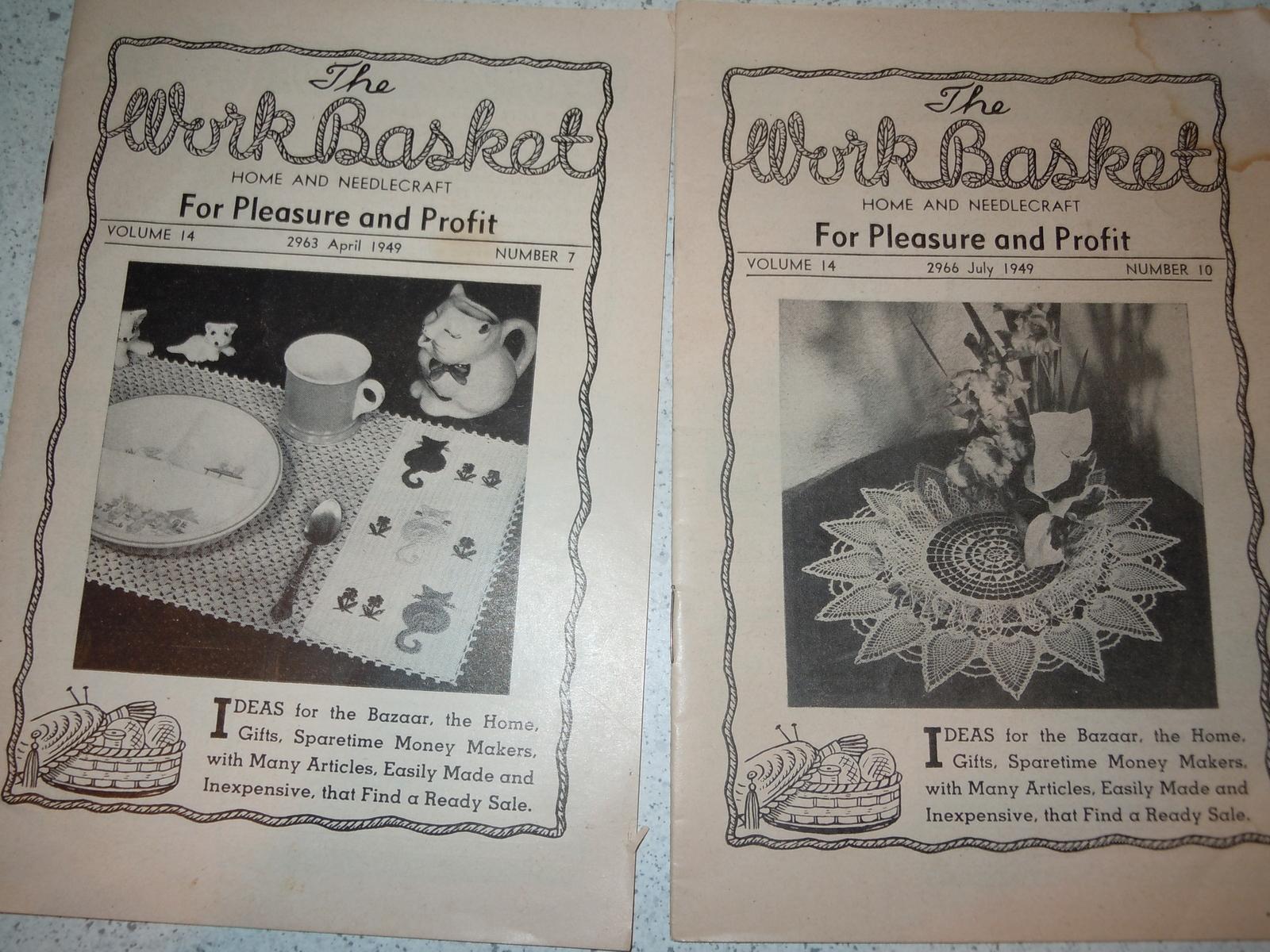 The Workbasket Magazine: 19 listings