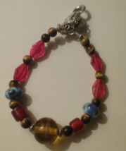 Artisan Crafted Handmade Tiger's Eye Multi Bead... - $4.50