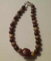 Artisan Crafted Handmade Genuine Jasper & Agate... - $6.50