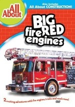 DVD - All About Big Red Fire Engines/All About Construction DVD  - $7.08