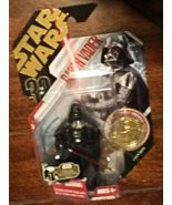 """Star Wars 30th Anniversary 3.75"""" Darth Vader Basic Figure with Coin #16 (2007) - $10.49"""